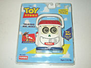 Toy Story Talking Mr. Mike Vtg Vintage - New And White, 1996 Rare - Various Talk