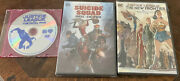 Suicide Squad Hell To Pay/ Justice League The New Frontier /fatal Five Lot Of 3