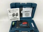 Bosch Gpl100-30g 125and039 3 Point Cordless Green Beam Self Leveling Alignment Laser