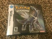 Pokemon Diamond Version Ds Authentic Sealed Us Release New Complete Y Fold