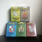 Metazoo 1st Edition Cryptid Nation Tribal Theme Deck Bundle - All 5 Sealed/new