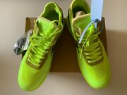 New The 10 Nike Air Force 1 Low Ao4606-700 Men's 11 Shoes Volt Black 170