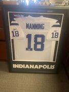 Peyton Manning Signed Indianapolis Colts Jersey. Jsa Authenticatio Trp023668