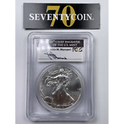 2012 W Pcgs Ms70 American Silver Eagle West Point First Strike 2844