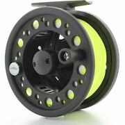 Dam Fishing Fly Reel With Dt3 Floating Line Backing + Loop Fitted Plus Leader