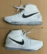 Nike Womenand039s Zoom All Out Flyknit Pure Platinum 845361-100