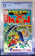 X-men King-size Special Annual 2 Cbcs 7.5 Marvel 1971 John Romita And M Severin