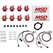 Msd Ignition 8289-kit Smart Coil Big Wire Kit Compatible With Holley Hp Lsx And Do