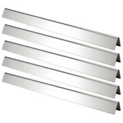 5pcs Stainless Steel Gas Barbecue Grill Heat Plate Accessory Parts For Lj4