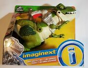 New Fisher-price Imaginext Jurassic World Mega Mouth T-rex Chomping Action