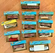 Athearn Ho Vintage Model Trains Lot In Box Scaled From Railroad Blueprints D9