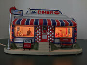 Coca-cola The Main Street Collection 2006 Illuminated Ed's Diner