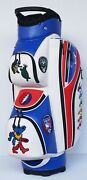 Grateful Dead Custom Golf Cart Bag With Personalized Name, Color, And Logo