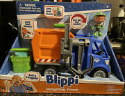 Blippi - New Talking Recycling Truck Garbage Recycle Vehicle