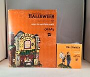 Dept 56 Lot Of 2 Ouija The Mystifying Oracle + Don't Be A Scaredy-cat D56 New