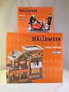 Dept 56 Lot Of 2 Harley Crow Bar + Forced Fit Sv Halloween D56 Brand New