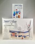 Dept 56 Lot Of 2 Lot 58, Christmas Court + Back For The Holidays Snow Vill D56