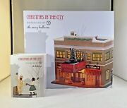 Dept 56 Lot Of 2 The Savoy Ballroom + The Lindy Hop Christmas In The City New