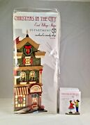 Dept 56 Lot Of 2 Rachael's Candy Shop + Sweet Friends Forever D56 Cic New