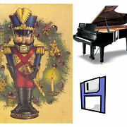 The Nutcracker Solo Piano Music For Pianodisc Pds128 On One 3.5 Floppy Disk