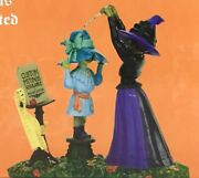 Dept 56 Hattieand039s Hats Custom Fitted 4056706 Sv Halloween D56 Witch Hollow New