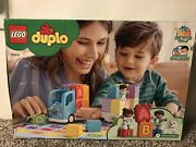 Lego Duplo My First Alphabet Truck 10915 Abc Letters Learning Toy -toddler