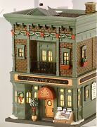Dept 56 Fulton Fish House 4030345 Christmas In The City Department 56 Brand New