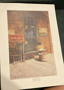 Sandy Lynam Clough Signed Le 469/1000 The Lost Mountain Store Dr. Pepper Print