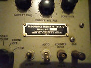 Vintage Sentinel Electronics Frequency Meter Military Digital Nixie Tube Rare