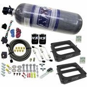 Nitrous Express 30275-12 Conventional Stage 6 Nitrous Plate System