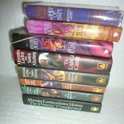Lot Of 8 Hardcover Fantasy Books Mercedes Lackey And James Mallory Enduring Flame