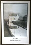 Flour Mill Lithograph By Andrew Wyeth New York Graphic Society 1985