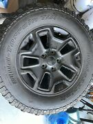 5 Bf Goodrich Jeep Willys Wheels Tires And Rims Lt255/75 R17