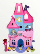 Fisher-price Little People Disney Princess Magical Wand Palace Castle 5 Figures