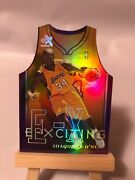 1999-00 Skybox Ex E-xciting Die-cut Holo Insert 5 Xct Shaquille Oand039neal Shaq
