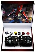 2019 Sdcc Exclusive Marvel Spider-punk Web Shooters And Pins Toynk Man