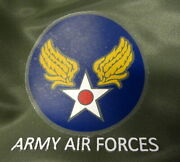 Army Air Forces Flight Suit/ Flight Gear Heat Transfer Decal