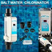 Salt Chlorination System For In-ground Pools Hot Tub Up To 26,400 Gallons