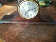 Seth Thomas Plymouth Model Electric Mantel Clock For Restoration Looks Great