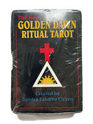 The New Golden Dawn Tarot Ritual Card Deck First Edition 1991 Cicero New Sealed