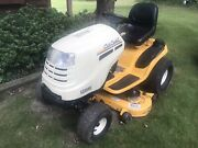 Cub Cadet Lawn Tractor. 46andrdquo Deck. New Belt Spindle And Starter. 675