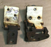 1962 And Other Ford Falcon 2 Door Tudor R/h Top And Lower Door Hinge And Mounting Bolt