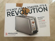 Revolution Cooking R180 High-speed Smart Toaster 2-slice Stainless Steel Toaster