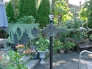 Rare 1910 Bronze Weathervane Directional Architectural Salvage Off Nyc Building