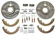Macs Auto Parts Model A Ford Hydraulic Brake Front Backing Plates - For 1-3/4