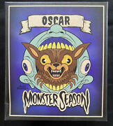 Monster Season Oscar Loot Crate Fright Alex Pardee Lycan Throat Exclusive