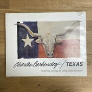 Charles Beckendorf / Texas, Signed Numbered Special Edition 1986