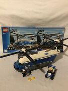 Lego City 4439 Heavy Lift Helicopter 99 Complete W/ Instructions