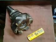 Kennametal 3.94 Indexable Facemill Kssr394se4455 And Lyndex Cat40 Shank + Inserts