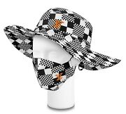 Authentic Louis Vuitton Printed Set Hat And Mask Cover Size M New With Tags
